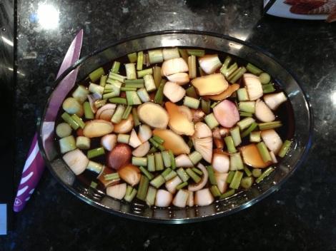 Chashu-grönsaker
